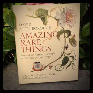 Amazing Rare Things, by David Attenborough